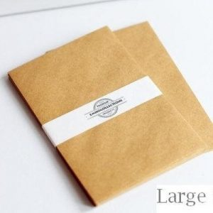 120 Blank Envelopes – Brown