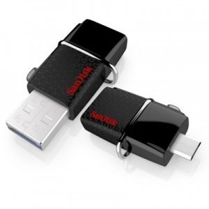 SanDisk 32GB OTG USB 3.0 Flash Drive with Micro USB Connector