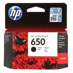 HP 650 Black Ink Cartridges