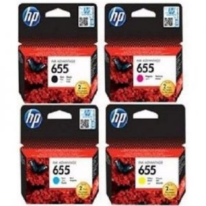 HP 655 Printer Cartridge Ink Set – Ink Advantage