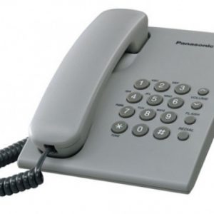 Panasonic Corded Telephone – KX-TS500 – Grey