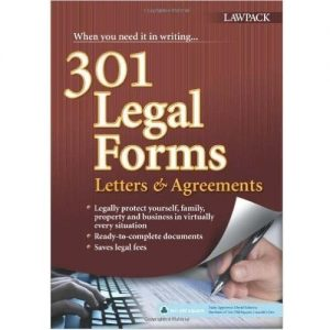 301 Legal Forms, Letters and Agreements by David Schmitz