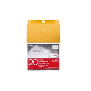 Envelopes 9 x 12 Inches – 20 Pieces