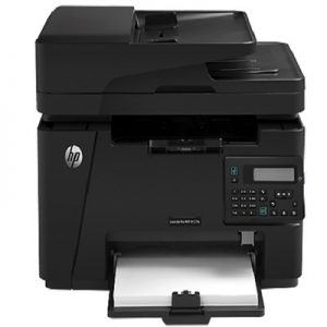 HP LaserJet 3-In-One Pro M127FN Wireless Fax- Black & White Printer