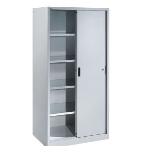 Lista Sliding Metal Door Cabinet