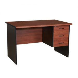 Prim Office Desk – 4 Ft Brown